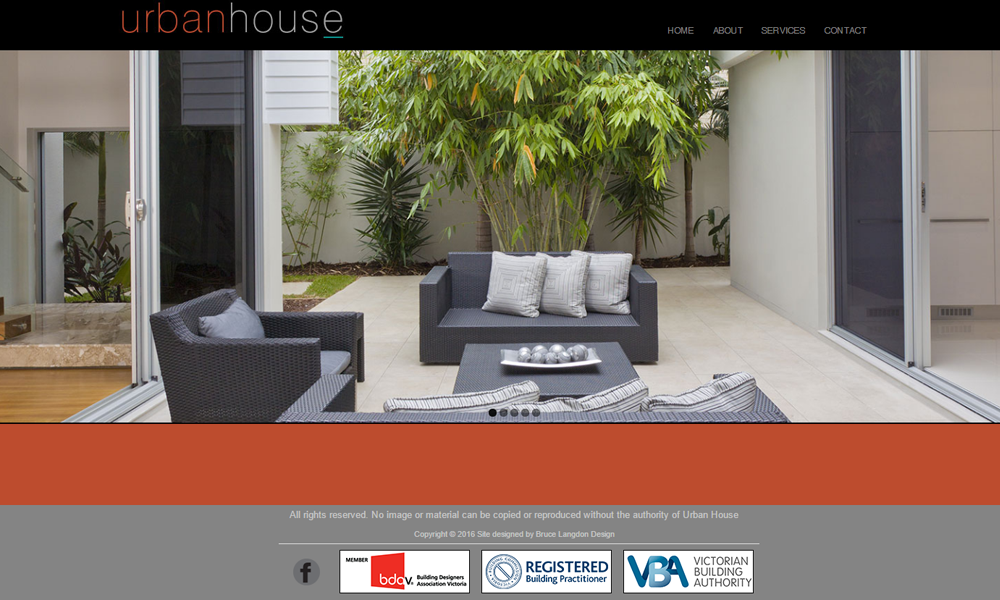 Urban House Website Warragul