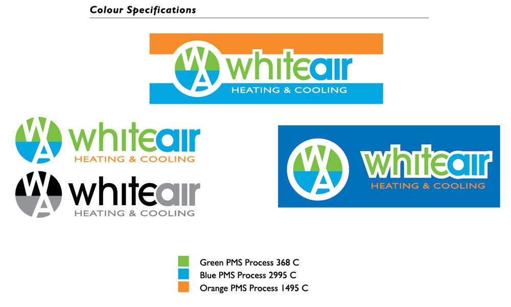 WhiteAir-Logo-design