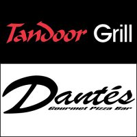 New Brochure Flyer for Dantes Pizza and Tandoor Grill