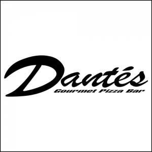 A5 flyers for Dantes Pizza
